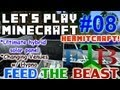 Let's Play Minecraft Hermitcraft FTB Ep. 8 - Changing Venues & Ultimate Hybrid Solar Panel!