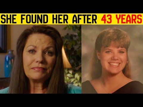 43 Years After Giving Up Her Daughter For Adoption, This Mother Decides To Relocate Her Lost Child