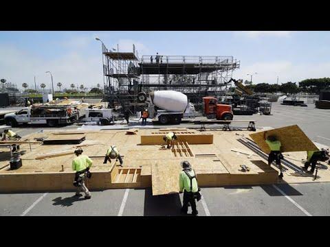 Stanley Building The Dream: Course Build Timelapse Dew Tour 2017
