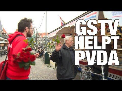 GSTV. Tom Staal op CAMPAGNE voor de PVDA