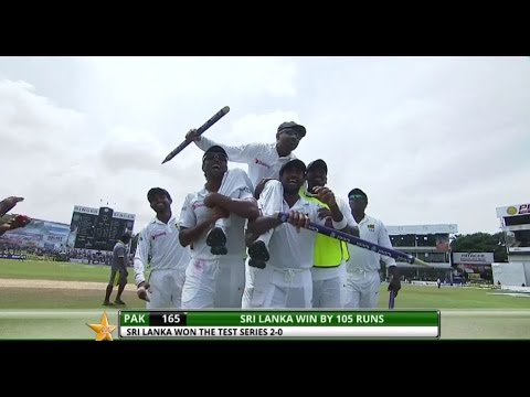 Sri Lanka beat Pakistan by 105 runs - 2nd Test Day 5: Highlights...