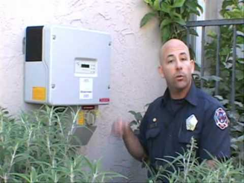 Part 1, Solar Photovoltaic Safety for Firefighters; Version 2011