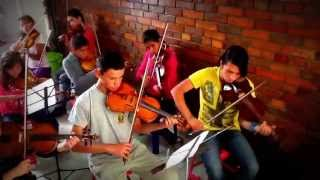 Ensayo Orquesta Escuela de Msica Rodrigo Leal- Cover Misin Imposible- Bogot Colombia