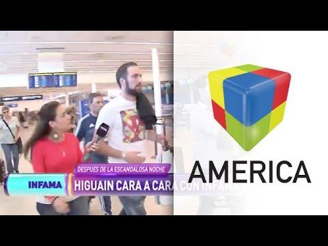 El enojo de Gonzalo Higuaín con Infama antes de volver a Italia
