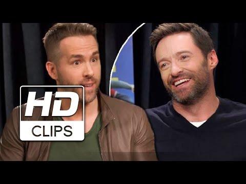 Volando Alto | Ryan Reynolds entrevista a Hugh Jackman | Próximamente- Solo en cines