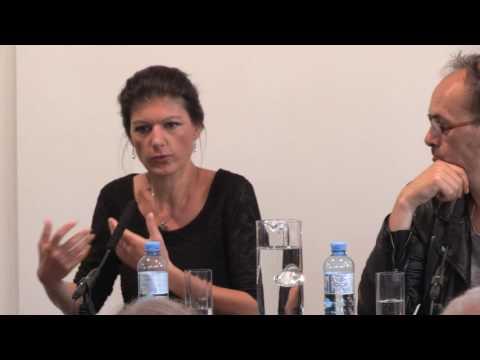 Bruno Kreisky Forum: SAHRA WAGENKNECHT REICHTUM OHNE GIER (13.6.2016)