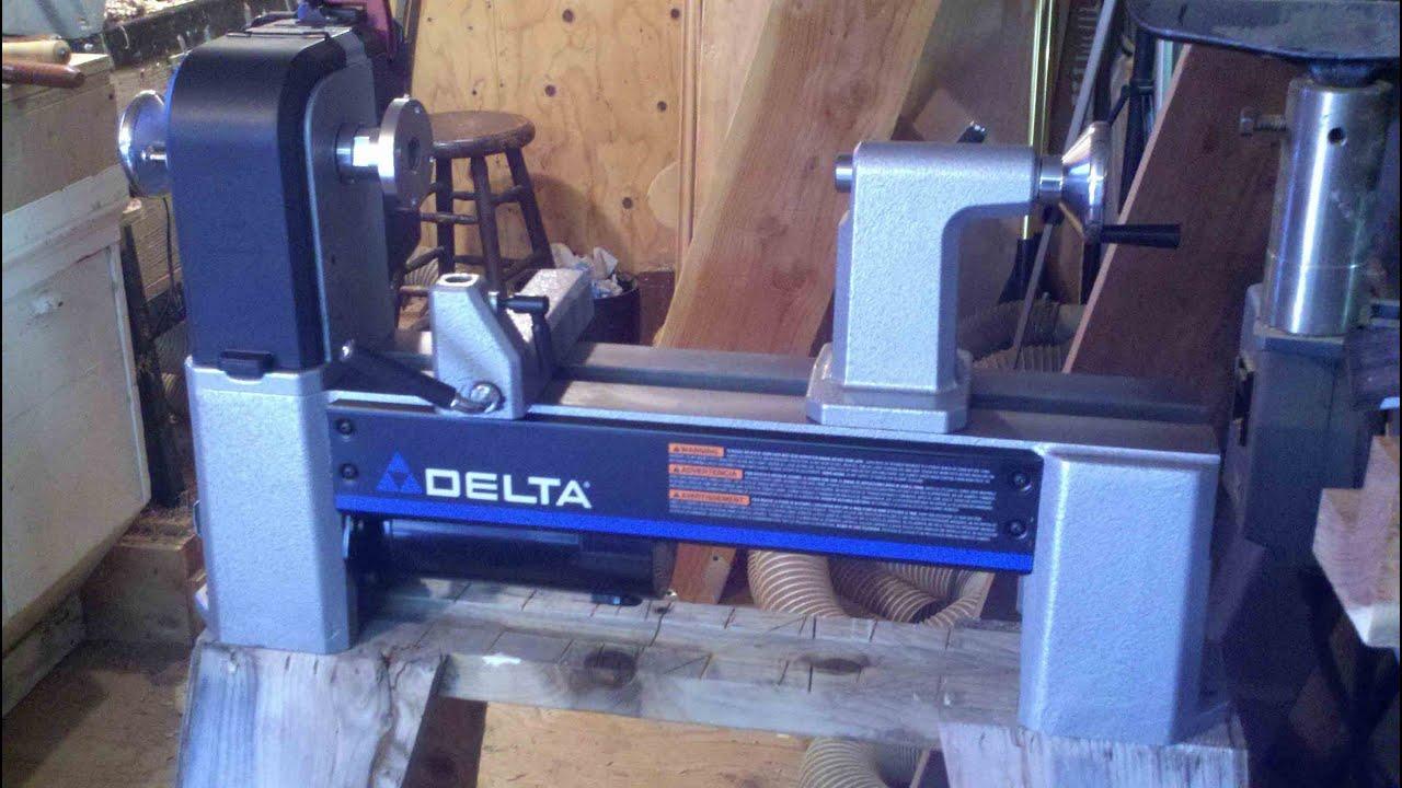 Woodturning My New Delta 46 460 Lathe Youtube