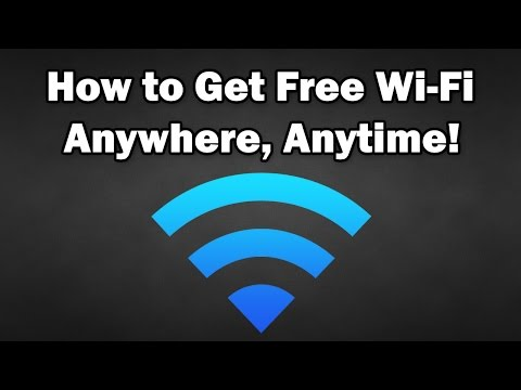 How to Get Free WiFi Anywhere. Anytime (September 2017)