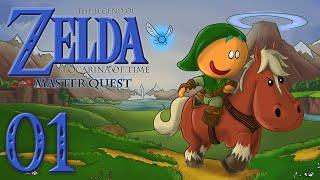 Zelda Ocarina of Time 3D Master Quest - Ep 1 : L'Épée de Légende étant Enfant ?!