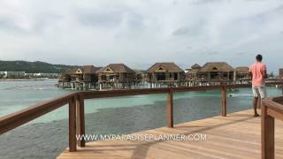 Tour of the new Overwater Villas (OWV) at Sandals Resorts (Sandals Royal Caribbean)