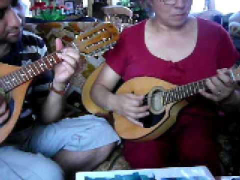 Glorioso encuentro 1era y 2da voz mandolina