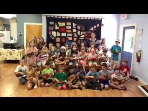 Athens Montessori School Strummers and Uke Club - 05/21/2013