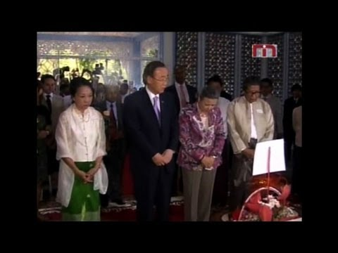 UN leader in top level Myanmar visit