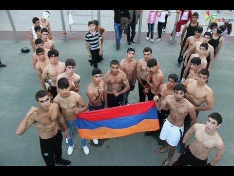 Workout tournament in Yerevan (Street Workout Armenia)