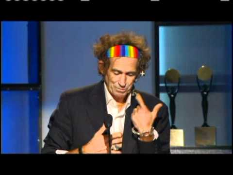 Keith Richards inducts ZZ Top Rock and Roll Hall of Fame inductions 2004