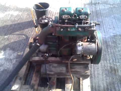 Volvo Penta MD2a 17hp Marine Diesel Engine - YouTube