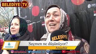 31 Mart 2019 Ataşehir Belediye Başkanlığı Seçimlerinde 100 Kişiye Sorduk
