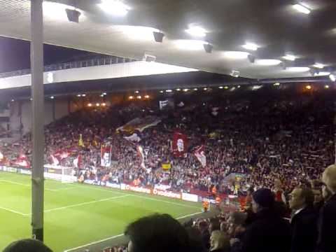 You'll Never Walk Alone (liverpool Vs. Real Madrid, 10 De Marzo De 2009) video