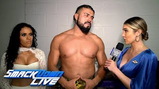 "Andrade and Zelina Vega upset after ""fluke"" defeat: SmackDown Exclusive, Sept. 3, 2019"