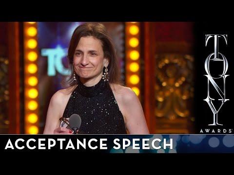 2014 Tony Awards: Acceptance Speech - Natasha Katz