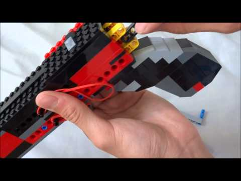 Lego Double Barrel Pistol (working)