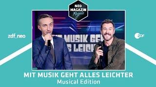 Mit Musik geht alles leichter - Musical Edition mit Jochen Schropp   NEO MAGAZIN ROYALE