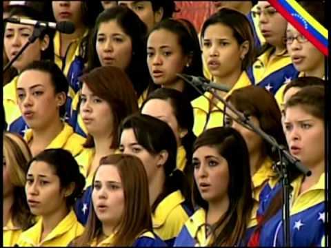 Sepelio del Comandante Chávez parte 1: Himno Nacional y homenajes musicales