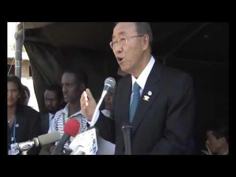 Secretary-General Opens Children's Library