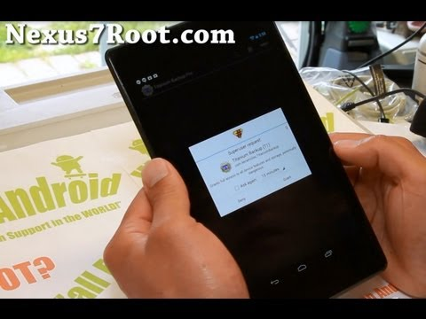 How to Root New Nexus 7! (2013)