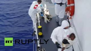 Italy: Italian Coast Guard intercepts 1,900 refugees in the Mediterranean