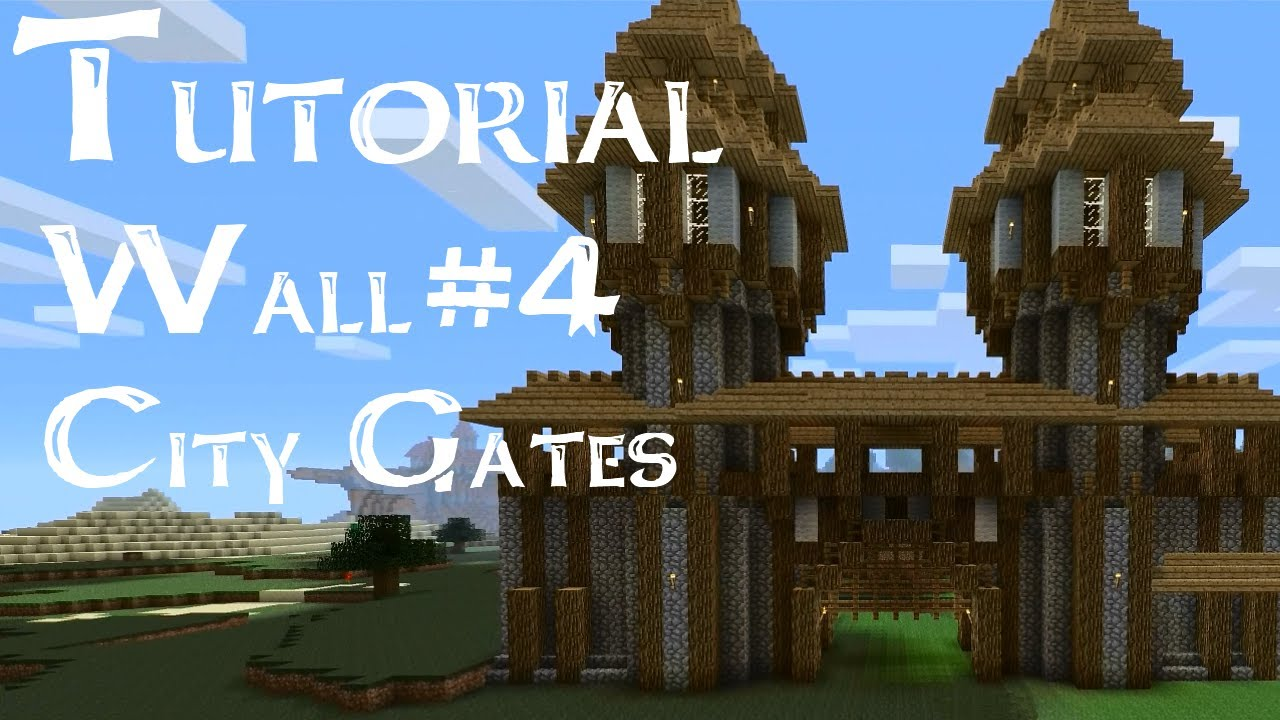 Medieval Tutorial: How to build medieval city walls and ...