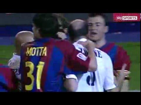Zidane vs Enrique 2003