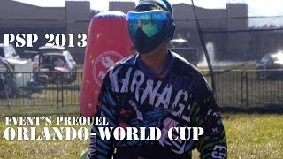 PAINTBALL - PSP World Cup 2013 - Events prequel