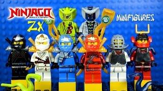 LEGO Ninjago ZX (Zen eXtreme) Masters of Spinjitzu KnockOff Minifigures Set 9