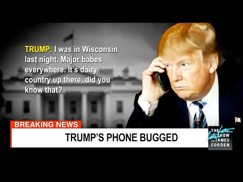 We've Got Tapes from Trump's Bugged Cell Phone