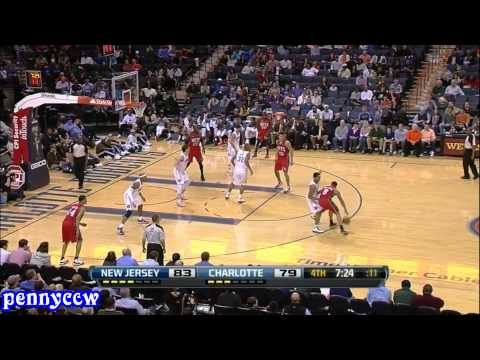 Deron Williams Career-High 57pts vs Charlotte Bobcats 11/12 NBA