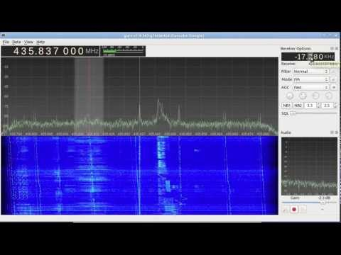 FM on FO-29 amateur radio satellite