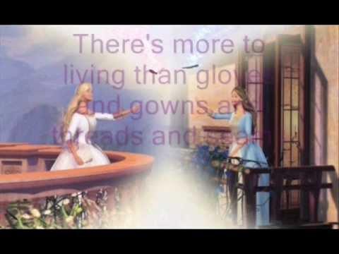 Barbie As The Princess And The Pauper: Free Lyrics video