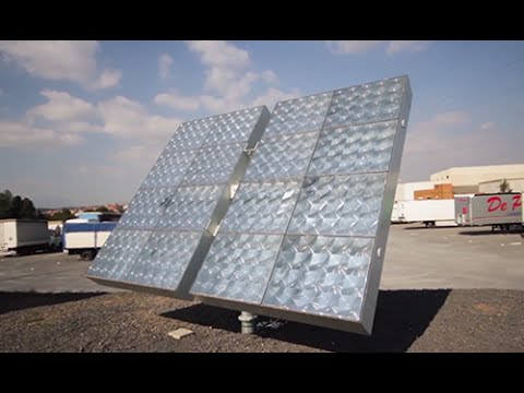A new system for the concentration photovoltaic solar energy