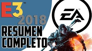 E3 2018 - Resumen de Conferencia de EA (Electronic Arts)