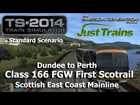 Dundee to Perth - Standard Scenario - Train Simulator 2014