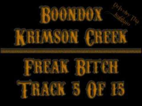 05 Boondox - Freak Bitch (krimson Creek) video