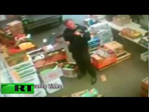 Exclusive footage: Police raid organic food stores