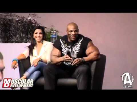 Ronnie Coleman declines Steroid Accusation - YouTube