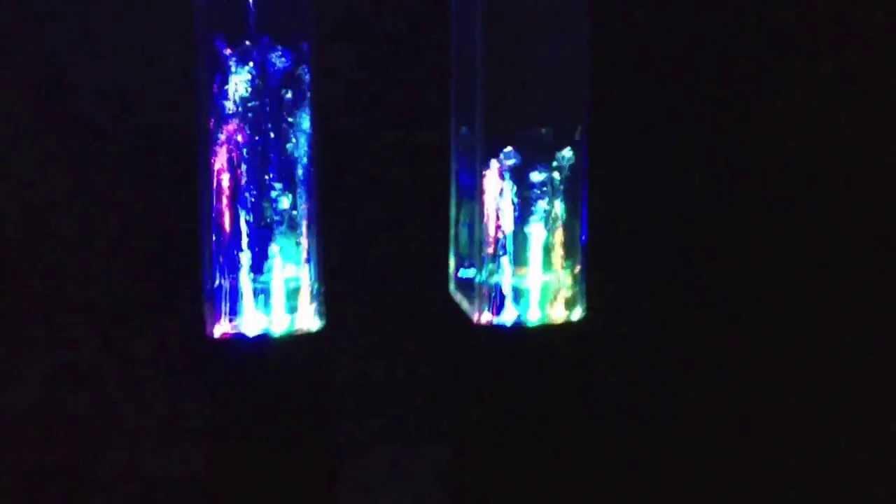 Neon Water Speakers Cool Neon Dancing Water