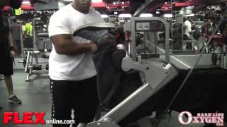 Big Ramy Glute and Hamstring Workout