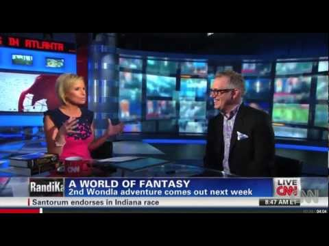 "DiTerlizzi's ""Hero for WondLa"" featured on CNN"