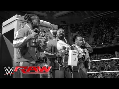 The New Day go back in time: Raw, May 16, 2016