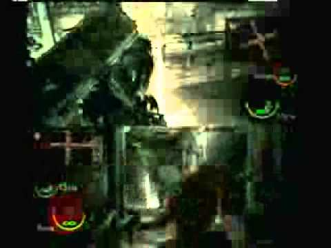 Resident Evil 5 Gameplay Chapter 4-1