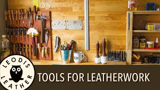The Tools You Need for Leatherwork! [HD]